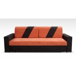 Orange And Black Sofa Bed How To Take Apart Lazyboy Recliner Ebern Designs Arviso Sleeper Walmart Com