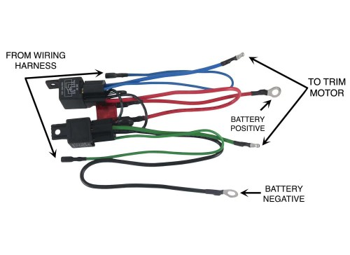 small resolution of 2wire tilt trim motor wiring diagram wiring library