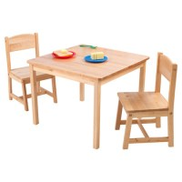 KidKraft - Aspen Table and Chair Set, Natural - Walmart.com