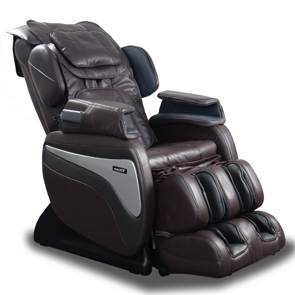 Best Massage Chair In The World Titan Ti 8700 Massage Chair Brown