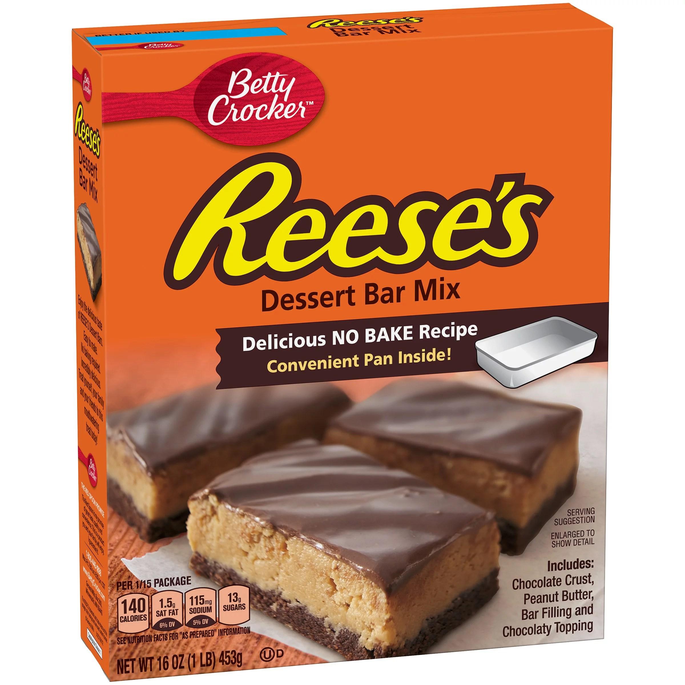 Betty Crocker Hershey39s Dessert Bar Mix Reese39s No Bake
