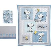 Bedtime Originals Peanuts Forever Snoopy 3-Piece Crib ...