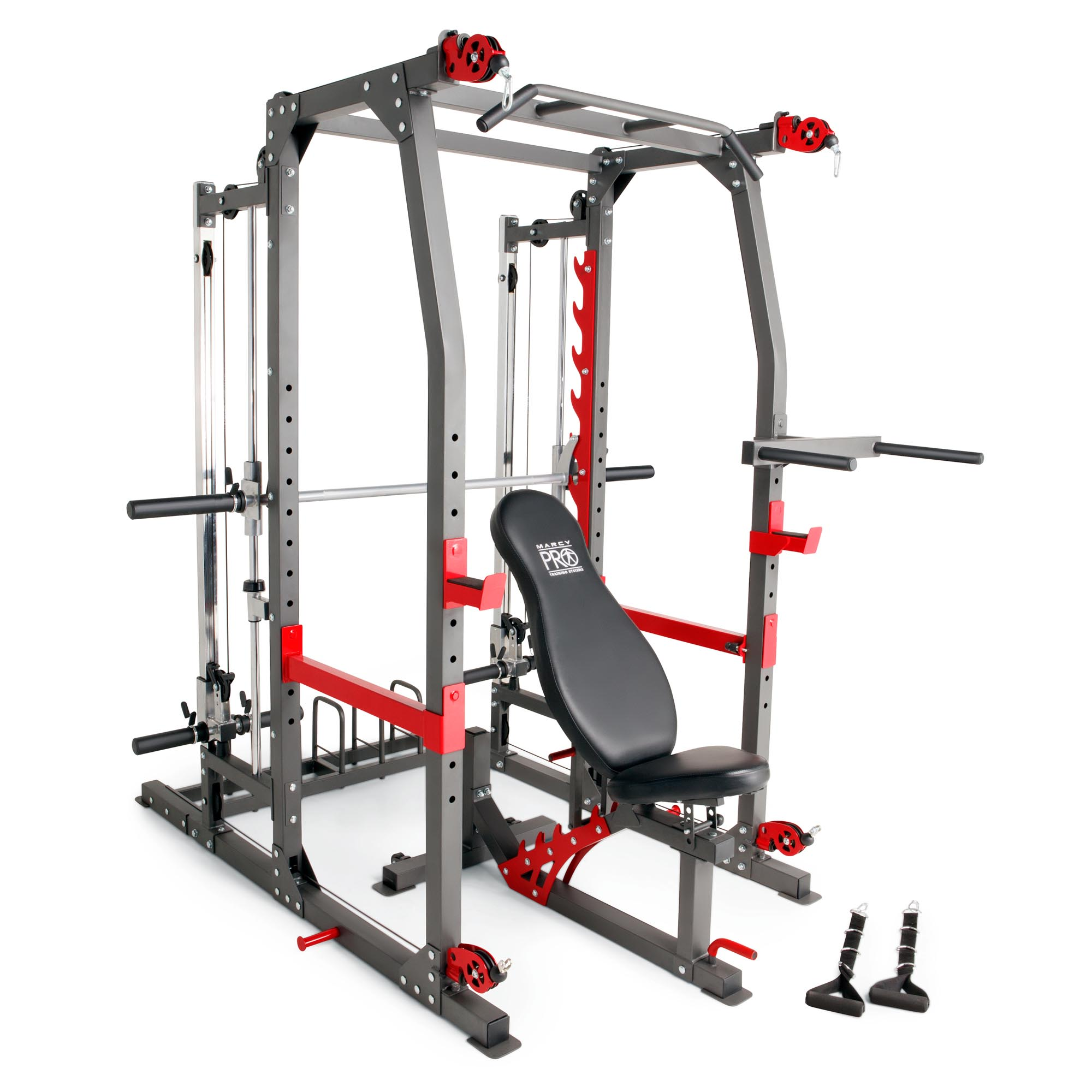Marcy pro smith machine weight bench home gym total body workout training system walmart also rh