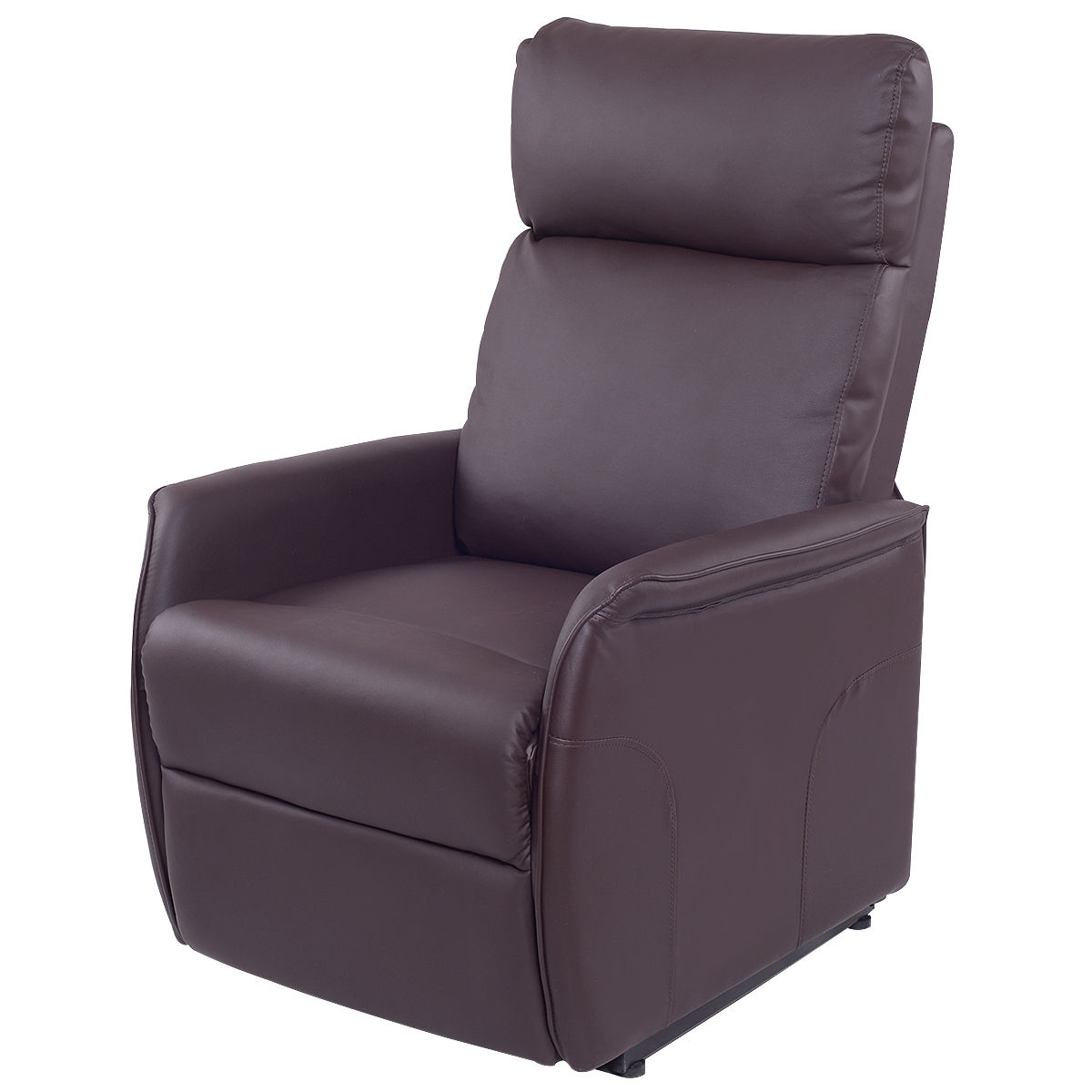home meridian lift chair repair loose covers for weddings recliners walmart com product image costway pu electric power recliner reclining sofa lounge w remote controller