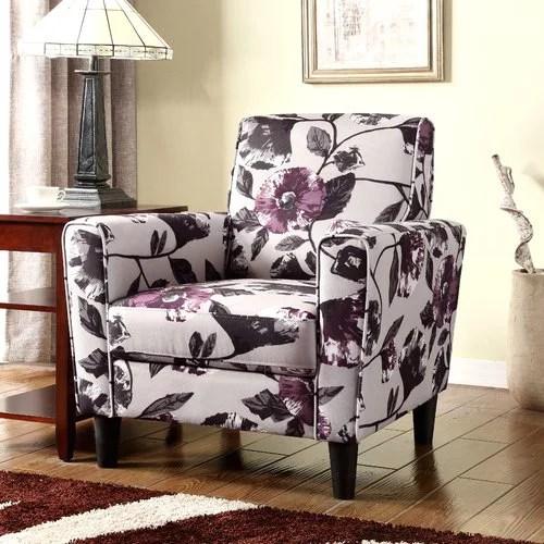 floral arm chair lifeguard floor lamp container armchair walmart com