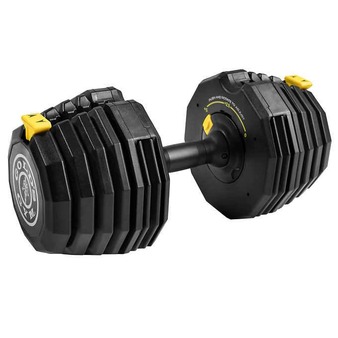 golds gym 110 lb select a weight dumbbell set