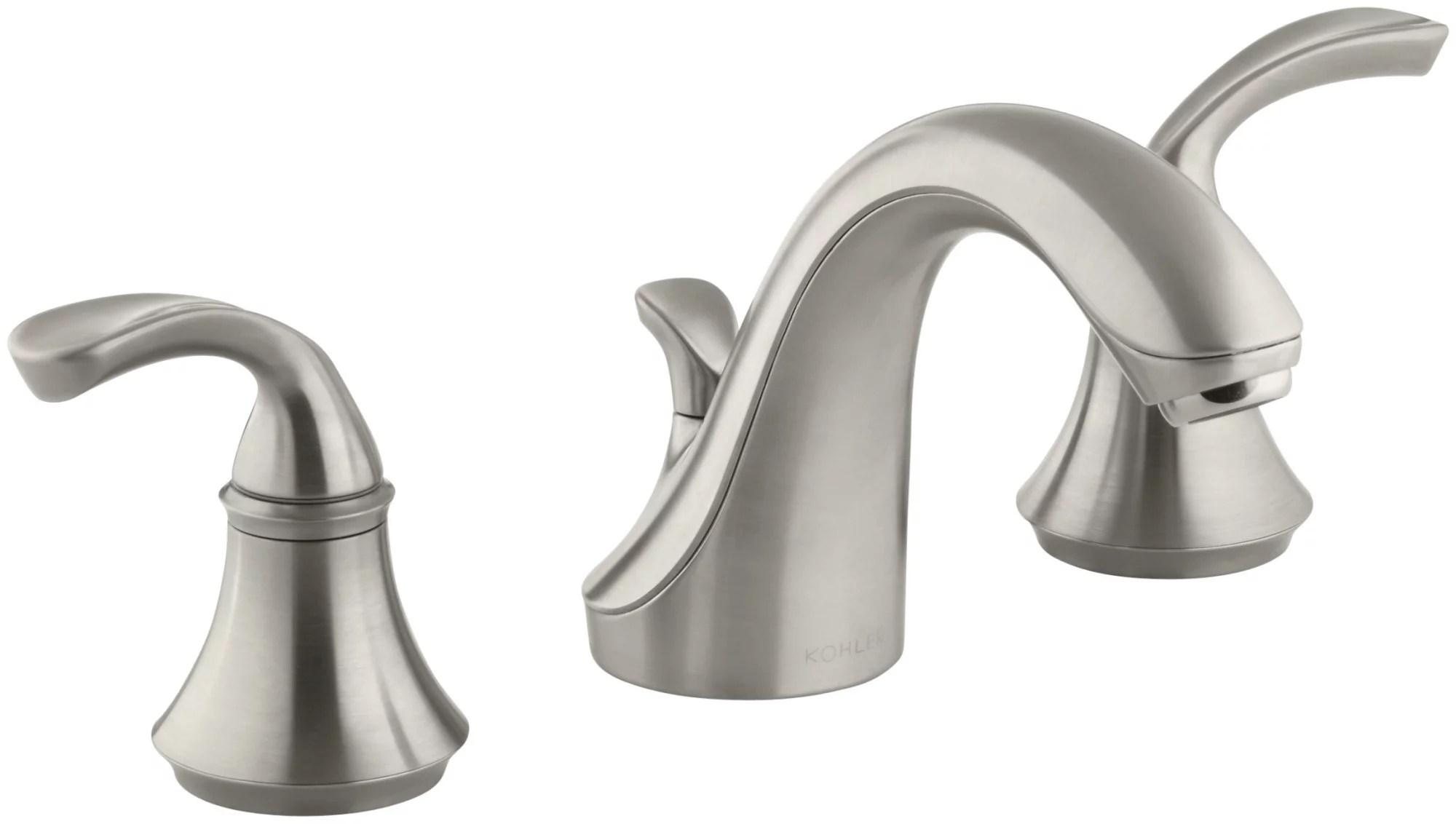 kohler k 10272 4 forte widespread bathroom faucet