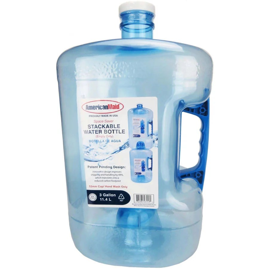3 gallon stackable water