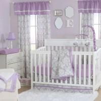 The Peanut Shell 4 Piece Baby Crib Bedding Set - Grey ...