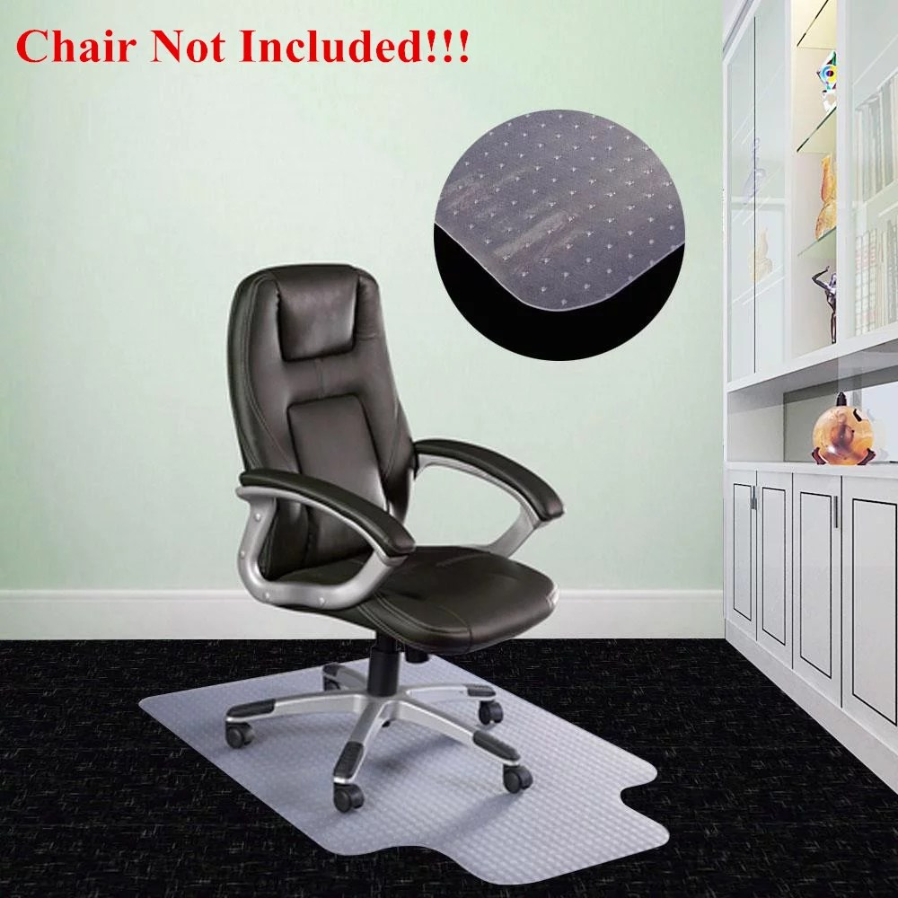 clear chair mat portable with canopy ktaxon 36 x 48 home office computer desk floor carpet pvc protector walmart com