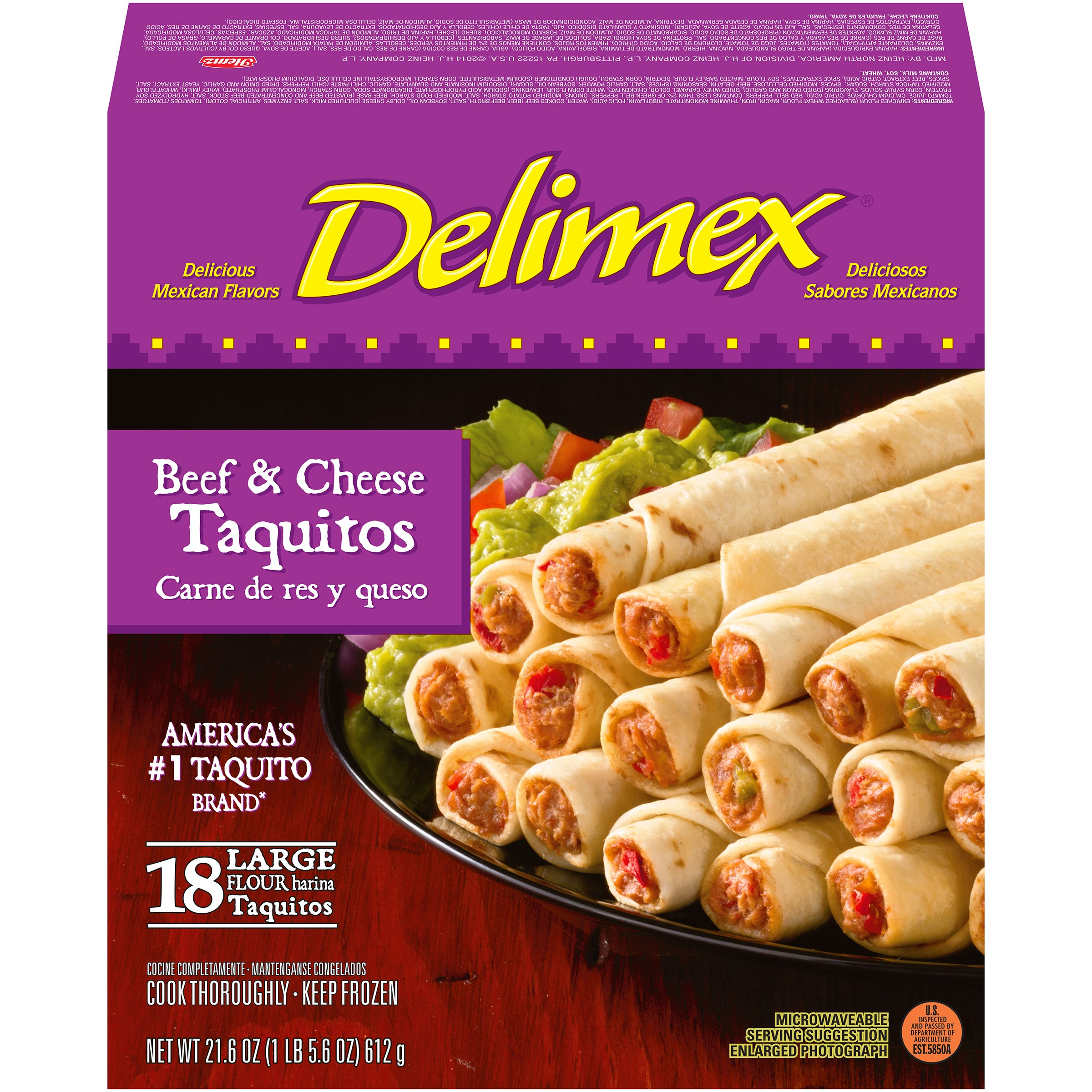 Delimex Beef And Cheese Taquitos Nutrition Facts  Besto Blog