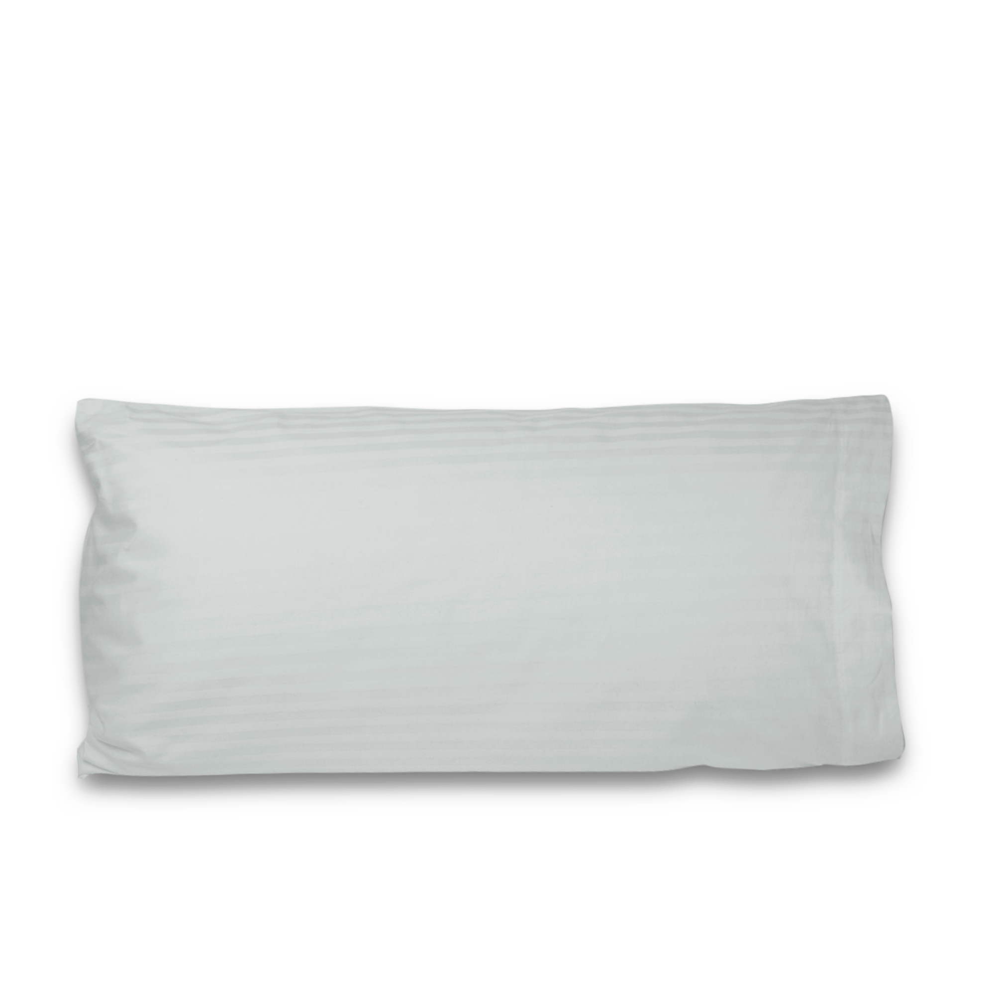 luxury hotel collection thick striped pillow cases queen size white set of 2