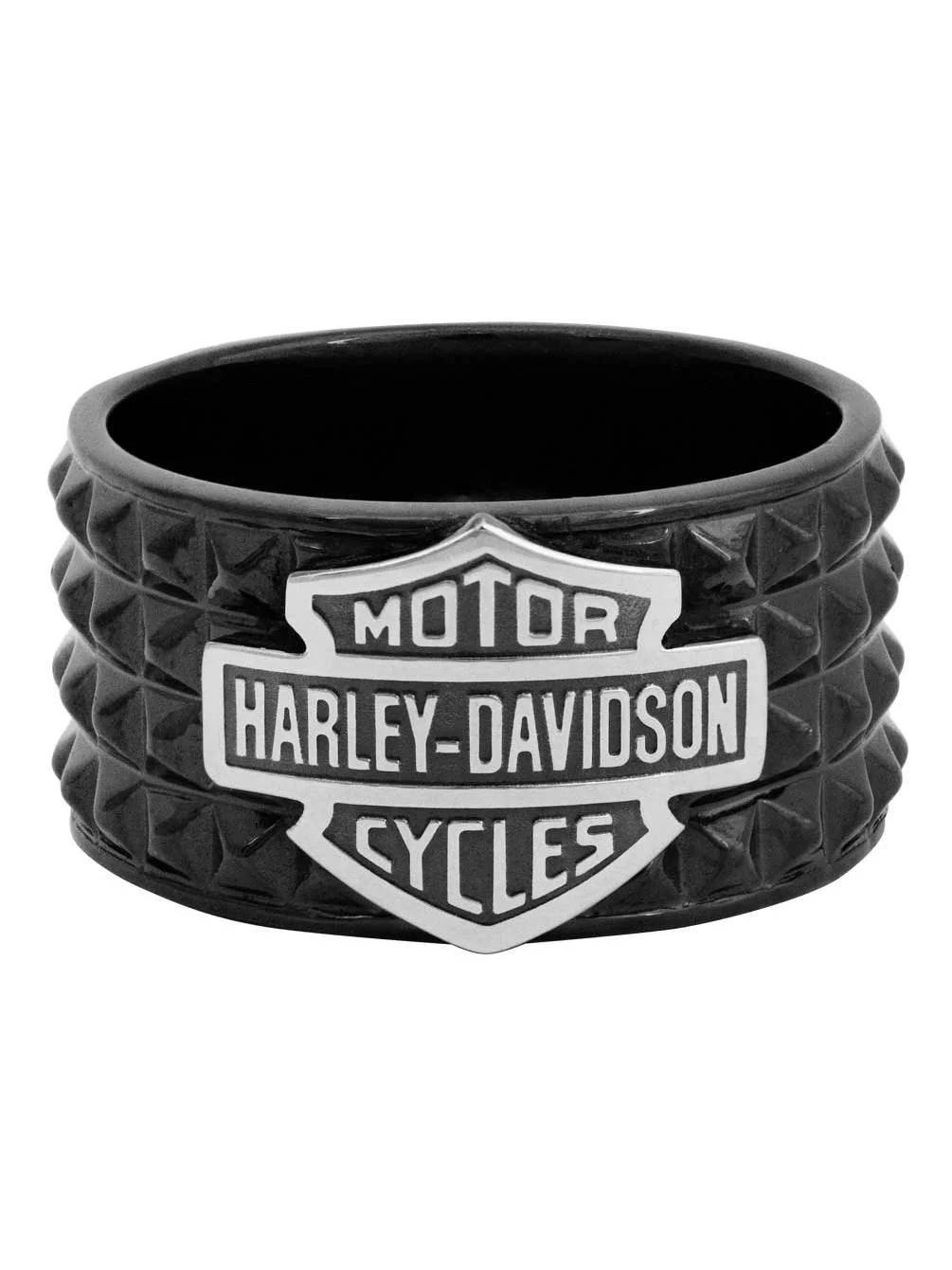 Harley Davidson Jewelry Rings : harley, davidson, jewelry, rings, Harley-Davidson, Men's, Jewelry, Black, Walmart.com