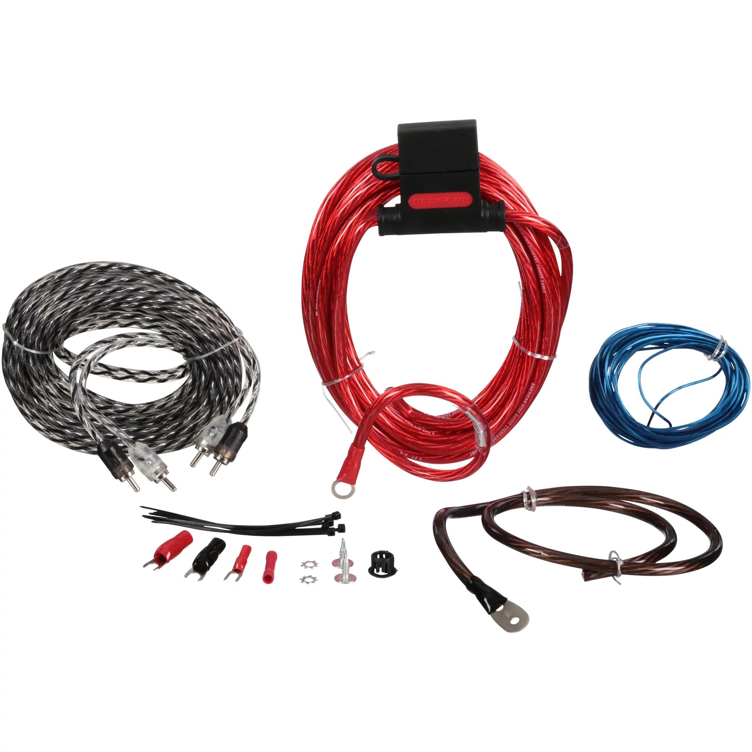 medium resolution of scosche car stereo amplifier wiring kit wiring diagram todayscosche 680 watt max 400 amp wiring