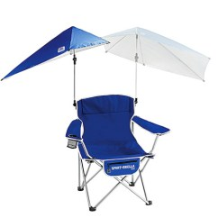 Sport Folding Chairs Boon High Chair Tray Dishwasher Brella With Detachable Umbrella Blue Walmart Com