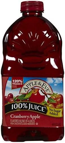 Apple Eve 100 Juice Cranberry Apple 48 Fl Oz