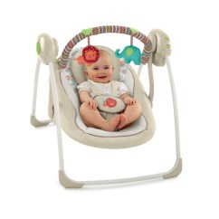 Bright Starts High Chair Pottery Barn Wingback Slipcover Ingenuity Portable Swing Cozy Kingdom 689853580312 Ebay