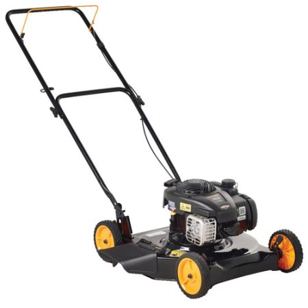 "Poulan Pro 20"" 125cc Gas Powered, Side-Discharged Push Lawn Mower"