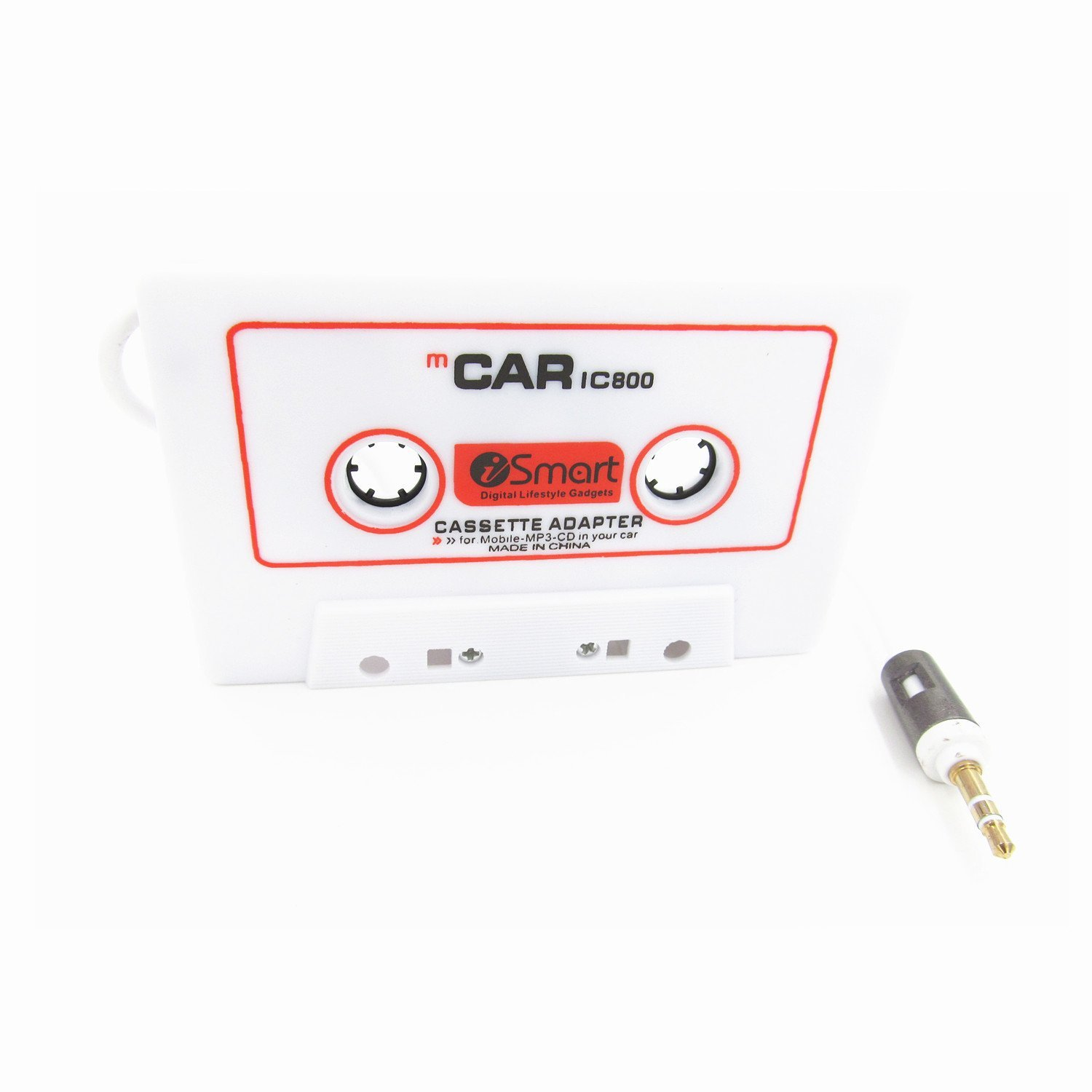 3 5mm Car Audio Tape Cassette Adapter For Iphone Ipad Ipod