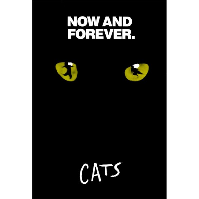 pop culture graphics movch9752 cats broadway movie poster print 27 x 40