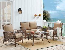 ulax furniture 4 piece outdoor