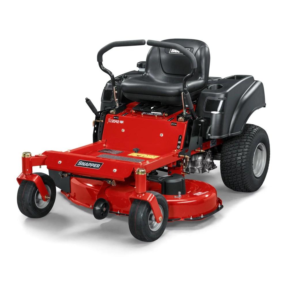 medium resolution of 20 hp briggs stratton hydrostatic zero turn mower walmart com