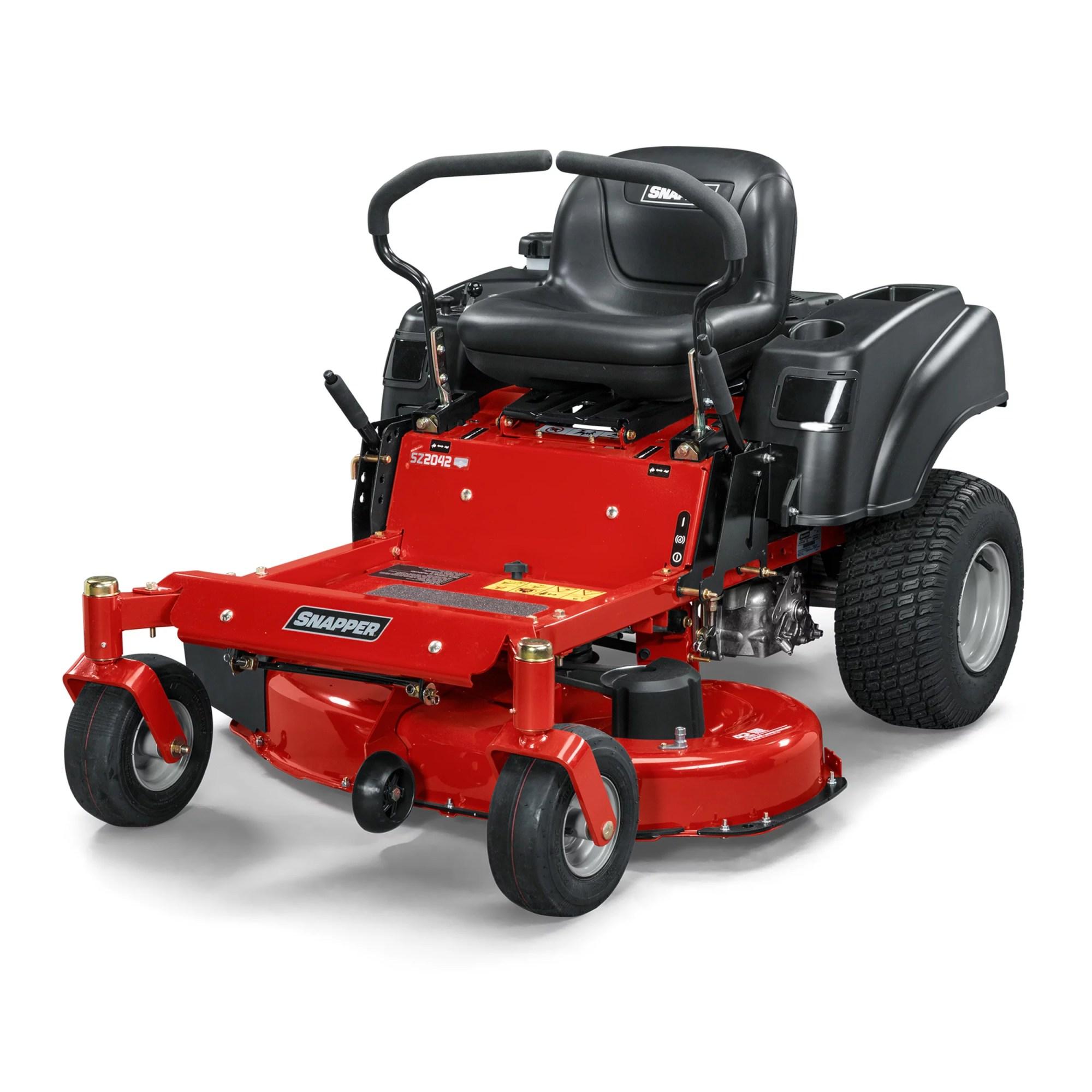 hight resolution of 20 hp briggs stratton hydrostatic zero turn mower walmart com