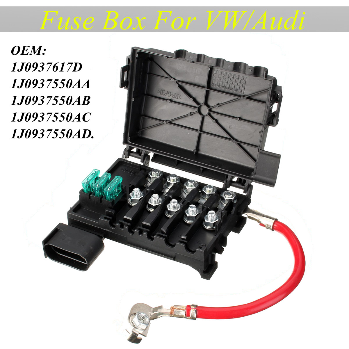 small resolution of fuse box battery terminal fit for vw beetle bora golf jett walmart com battery fuse box new beetle