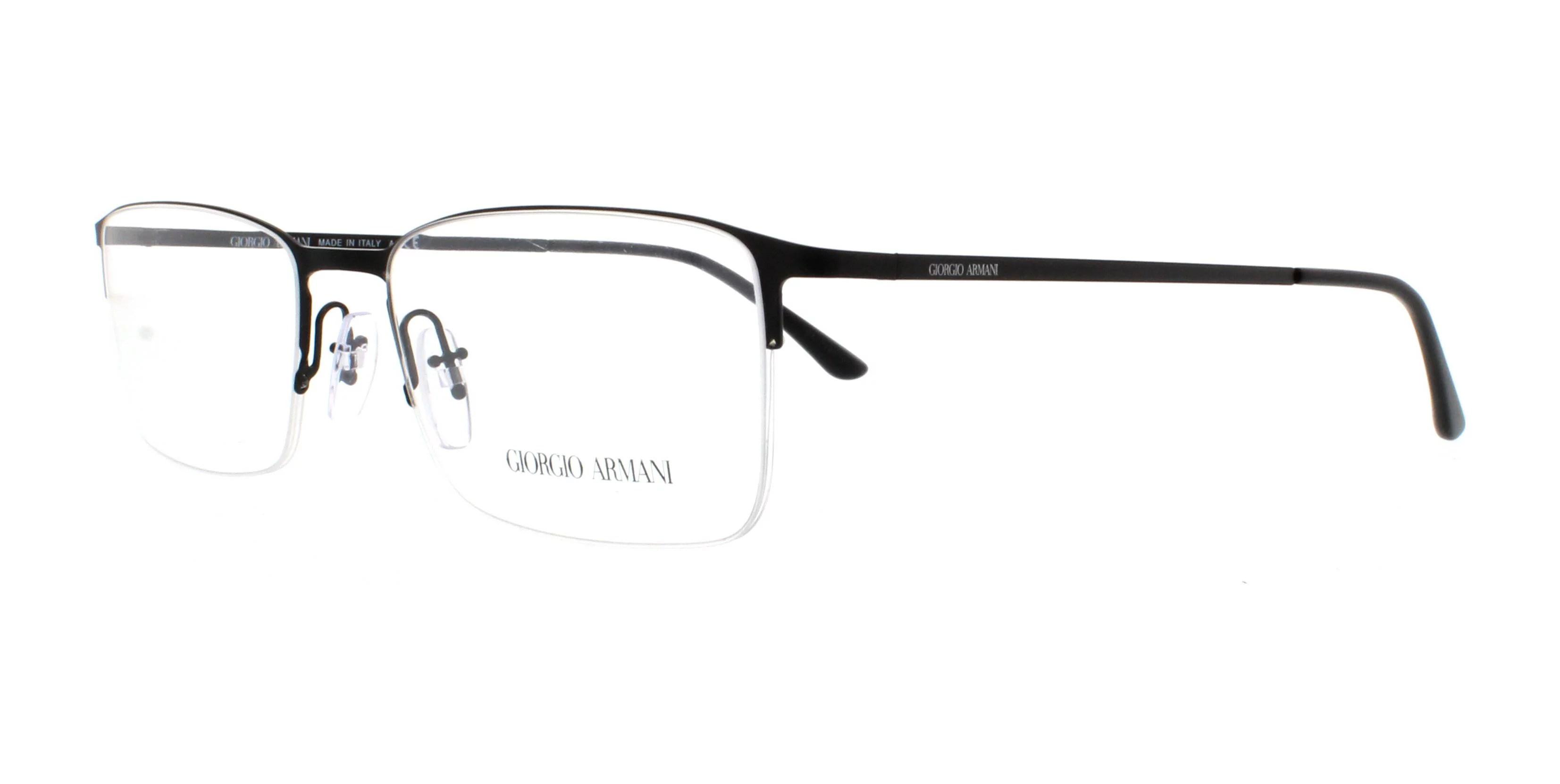 GIORGIO ARMANI Eyeglasses AR5010 3001 Matte Black 54MM
