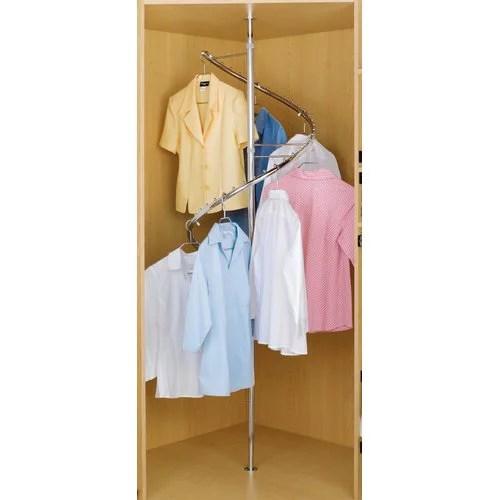 rev a shelf 23 w spiral clothes rack