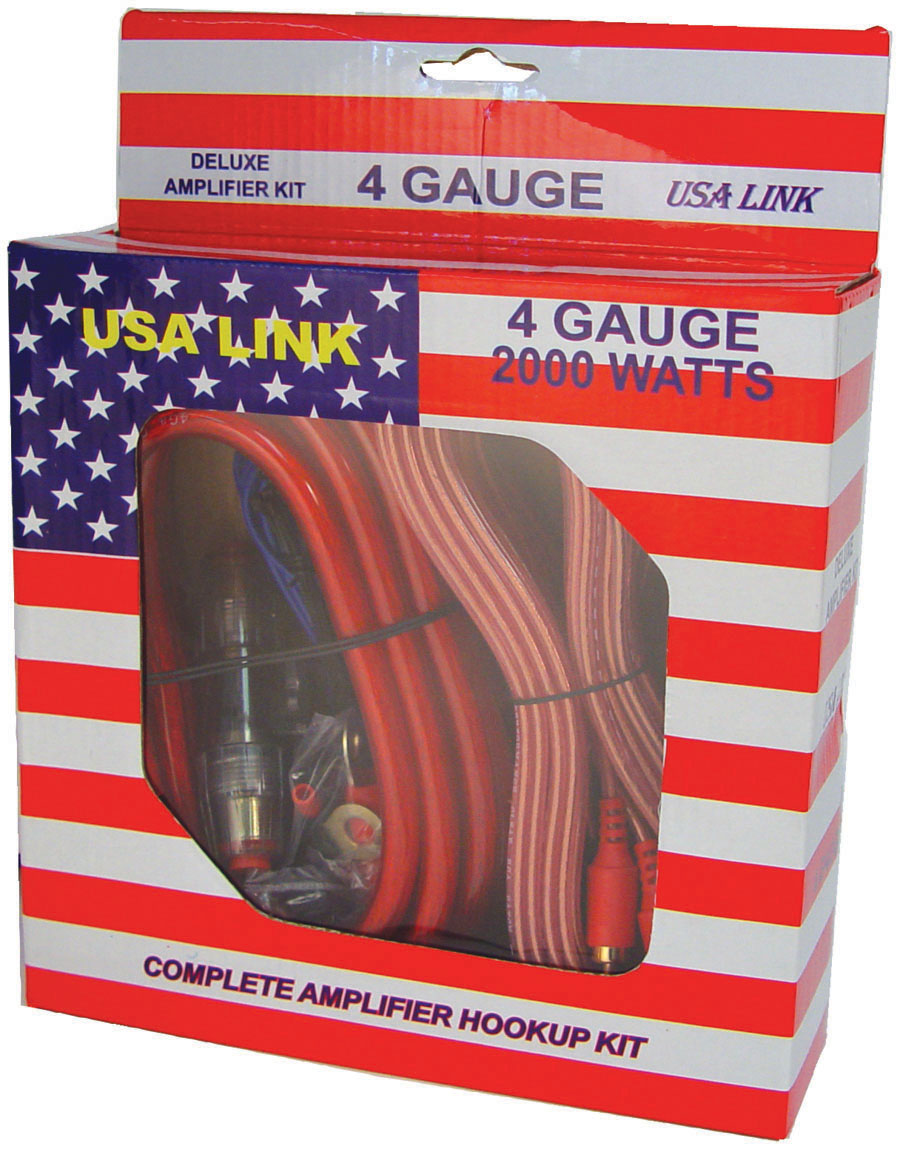 hight resolution of amp wiring kit w rca cables qpower walmart com