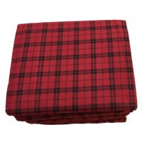 Cuddle Duds Plaid Flannel Sheet Set Red Buffalo Check ...
