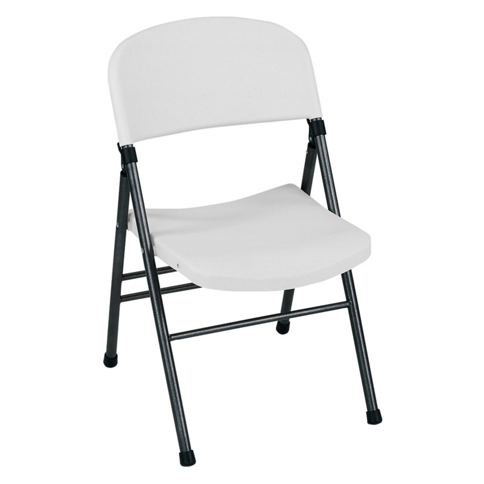 Cosco Folding Chair Cosco Commercial Molded Resin Folding Chair White Set Of 4