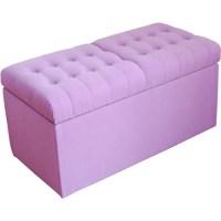 Purple Girl Storage Bench - Walmart.com