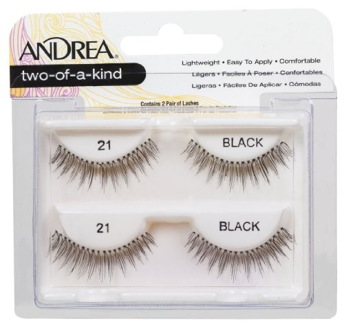 078462617920 UPC  Andrea Twin Pack Lashes Black Two Of A