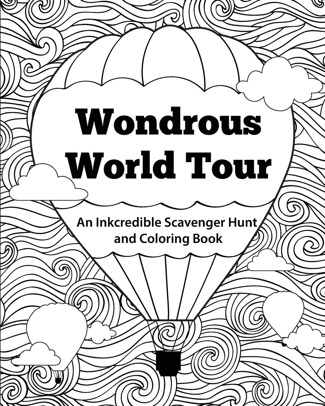 Wondrous World Tour: An Inkcredible Scavenger Hunt and