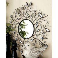 Decmode Metal Wall Mirror, Multi Color - Walmart.com