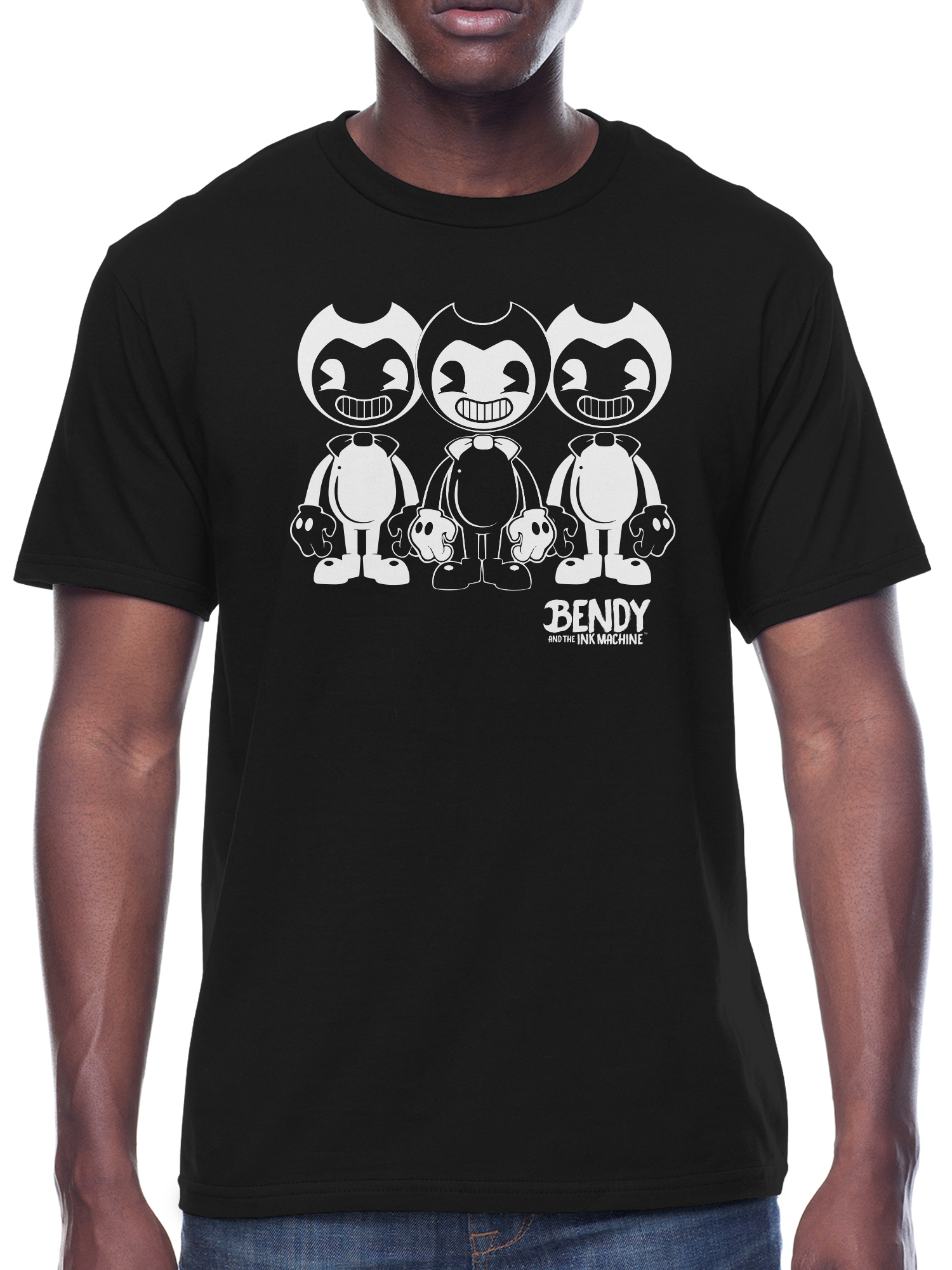 Bendy and the Ink Machine Men's and Big Men's Graphic T-shirt