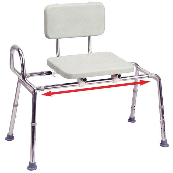 User Friendly Sliding Transfer Bench