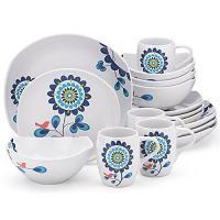 Dansk Classic Fjord Tweet 16-Piece Dinnerware Set ...