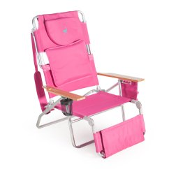 Low Back Chairs For Concerts Party And Tables Beach Walmart Com Product Image Deluxe Padded Ostrich Sport 3 N 1 Chair