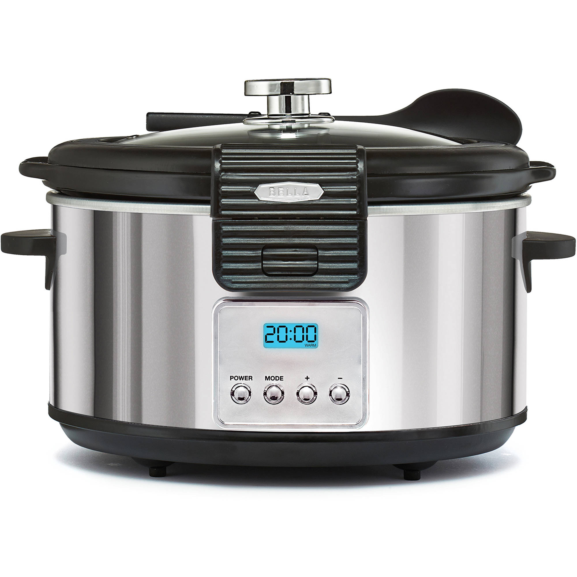 bella kitchen images of outdoor kitchens linea collection 5qt programmable slow cooker walmart exclusive com