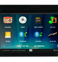 dual electronics xdvd276bt 6 2 inch led backlit lcd multimedia touch screen double din car stereo with built in bluetooth iplug cd dvd player  [ 3000 x 1988 Pixel ]