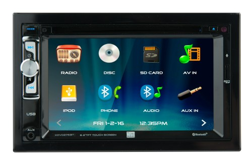 small resolution of dual electronics xdvd276bt 6 2 inch led backlit lcd multimedia touch screen double din car stereo with built in bluetooth iplug cd dvd player