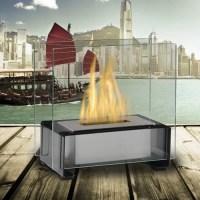 Eco-Feu Paris Bio-Ethanol Tabletop Fireplace - Walmart.com