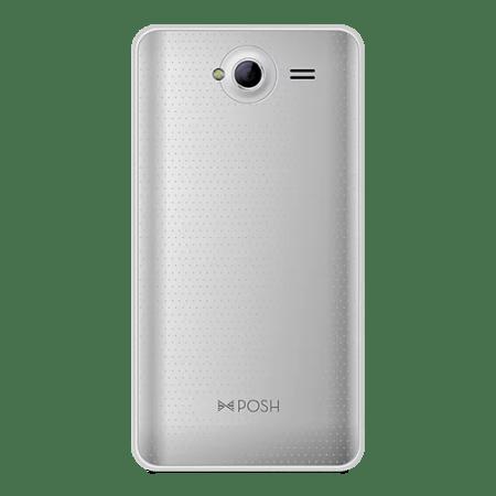 "Posh Mobile Revel Pro X510 GSM Unlocked 4G HSDPA+, 4GB, 5.0"" LCD, Android Smartphone, Dual Sim (SILVER)"
