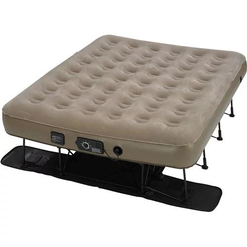 Instabed EZ Air Bed with NeverFlat AC Pump Queen  Walmartcom