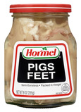 Hormel Jarred Pigs Feet Semi Boneless in Vinegar 9 Oz