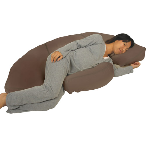 Leachco PreggoPedic Contoured Maternity Body Pillow System