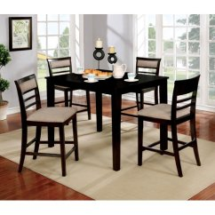 Red Counter Height Dining Chairs X Back Chair Barrel Studio Duong Set Walmart Com